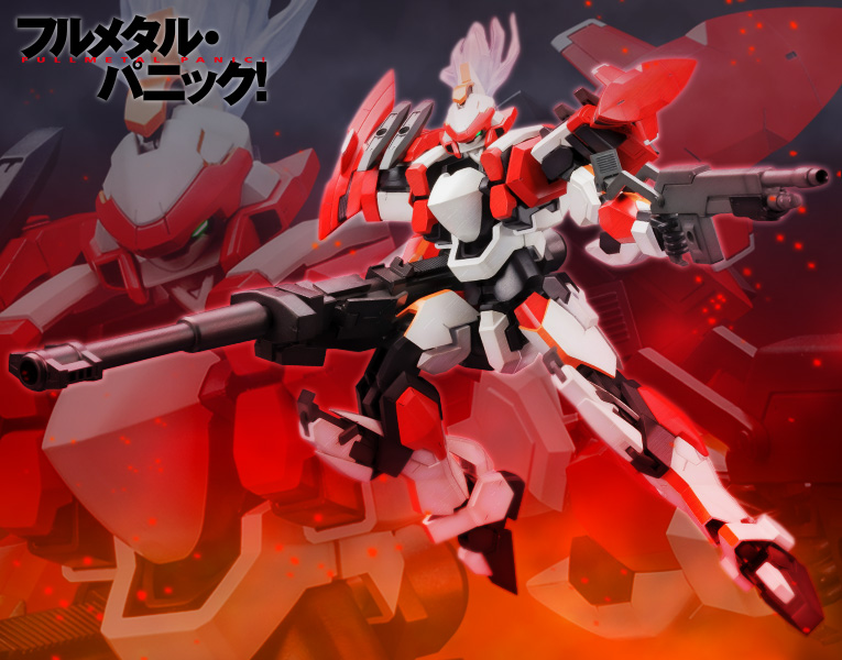 FULL METAL PANIC! ARX-8 LAEVATEIN 1/60 PLASTIC MODEL KIT